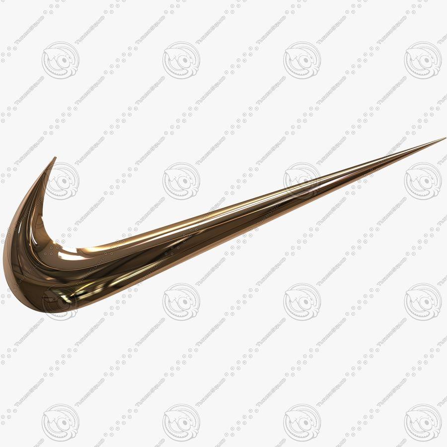 Nike Swoosh Logo 3D Model $29 - .max