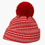 Christmas Winter Hat 3D模型 3d model