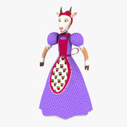 Goat Mother 3d model