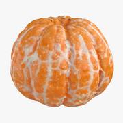 Mandarin 02 Peeled 3d model