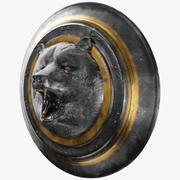 Bear Shield 3d model