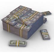 Een miljoen dollar 3d model