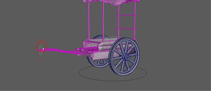 wagon royalty-free 3d model - Preview no. 10
