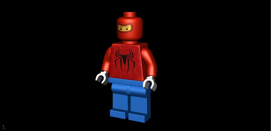 Lego royalty-free 3d model - Preview no. 2
