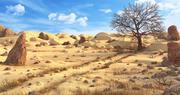 Путь пустыни 3d model