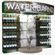 Stand de vente d'eau 3d model