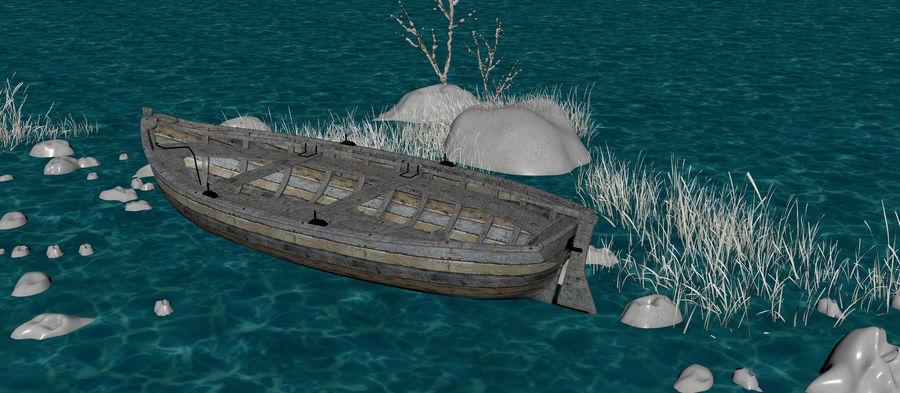 Fantasy Winter Beach royalty-free 3d model - Preview no. 19