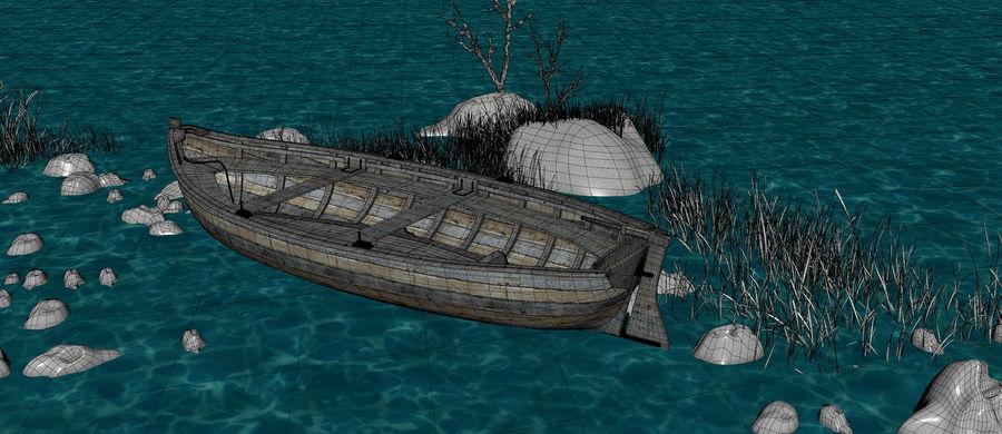 Fantasy Winter Beach royalty-free 3d model - Preview no. 20