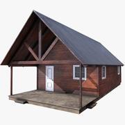 Old Cabin 04 3d model