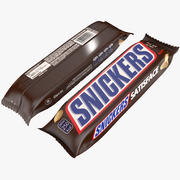 Snickers Chocolate Packing 3d model