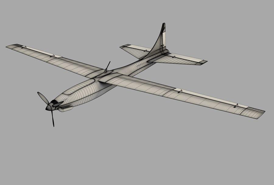 Pegasus UAV royalty-free 3d model - Preview no. 10