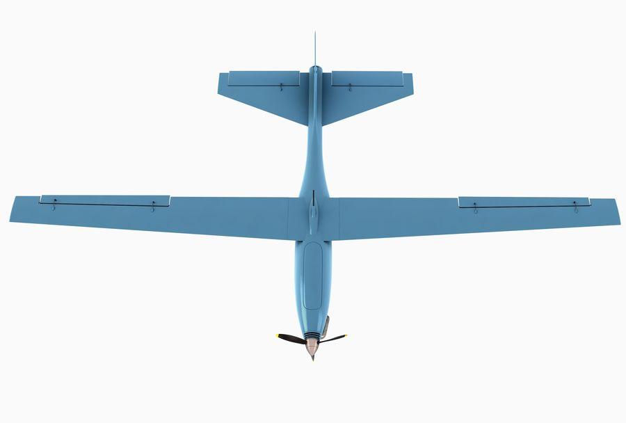 Pegasus UAV royalty-free 3d model - Preview no. 6