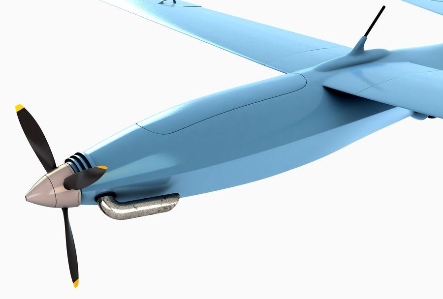 Pegasus UAV royalty-free 3d model - Preview no. 4