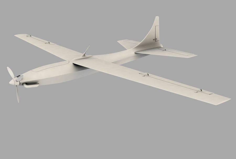 Pegasus UAV royalty-free 3d model - Preview no. 7