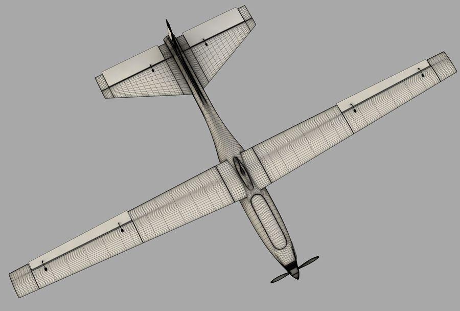 Pegasus UAV royalty-free 3d model - Preview no. 12