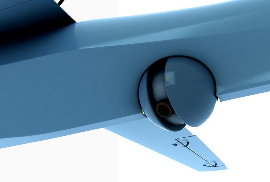 Pegasus UAV royalty-free 3d model - Preview no. 5