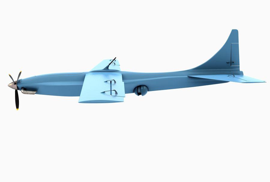 Pegasus UAV royalty-free 3d model - Preview no. 2