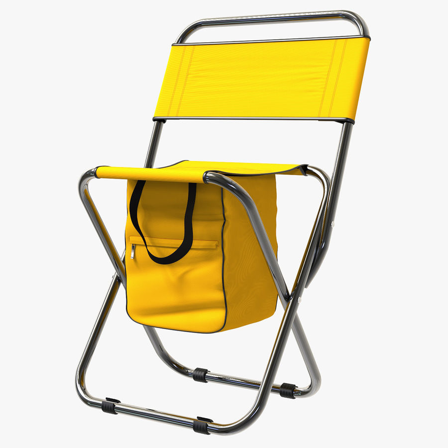 Folding Camp Chair royalty-free 3d model - Preview no. 1