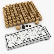 Bingo 3d model