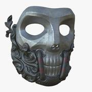 Żelazna maska 3d model