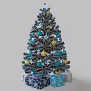 クリスマスツリーの贈り物 3d model