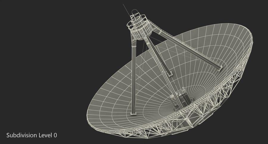 Antena parabólica Modelo 3D royalty-free modelo 3d - Preview no. 11