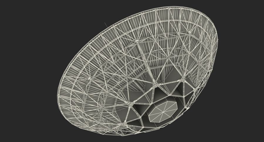 Antena parabólica Modelo 3D royalty-free modelo 3d - Preview no. 19