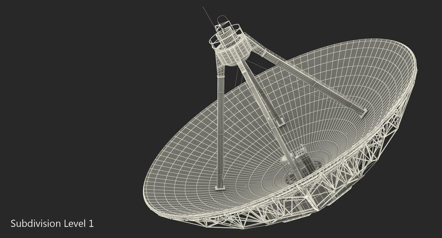 Antena parabólica Modelo 3D royalty-free modelo 3d - Preview no. 12