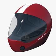 Fallschirmspringen Sport Helm 3d model