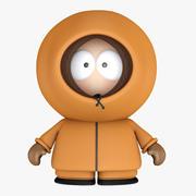 South Park Kenny Cartoon Boy 3d model