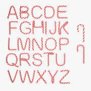 Alphabet Candies 3d model
