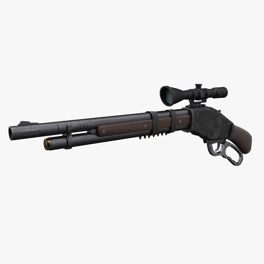 Kapsamlı av tüfeği royalty-free 3d model - Preview no. 1