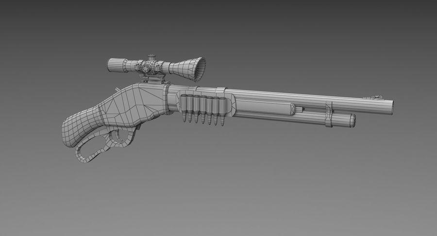 Kapsamlı av tüfeği royalty-free 3d model - Preview no. 8