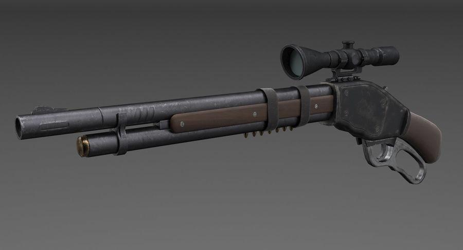Kapsamlı av tüfeği royalty-free 3d model - Preview no. 2