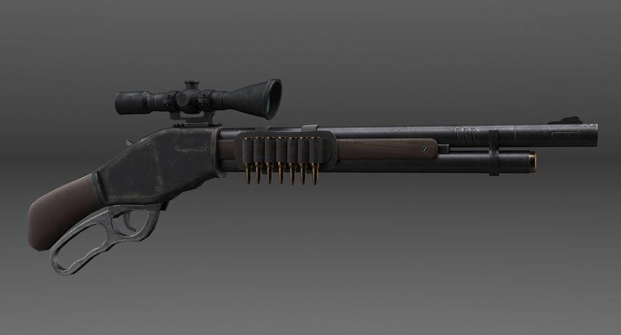 Kapsamlı av tüfeği royalty-free 3d model - Preview no. 3