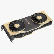 Nvidia Titan RTX 3d model