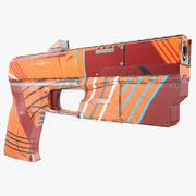 Pistola Scifi modelo 3d