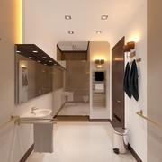 Stationäres Badezimmer 3d model