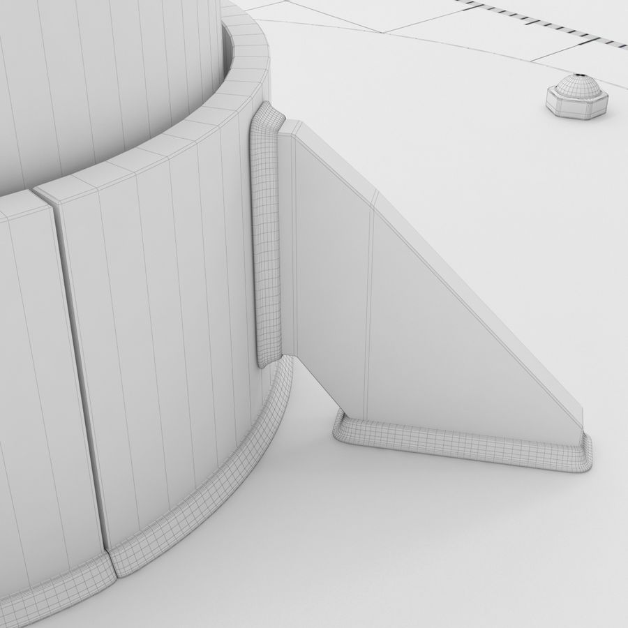 Telescope royalty-free 3d model - Preview no. 30