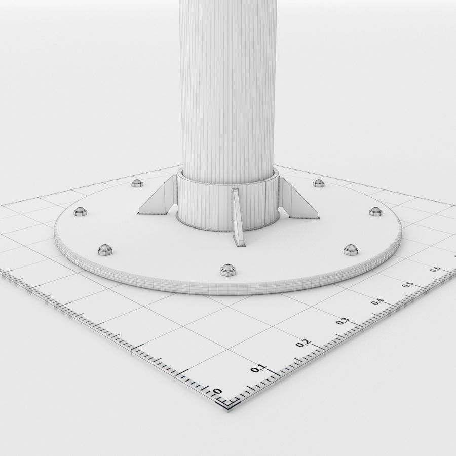 Telescope royalty-free 3d model - Preview no. 29