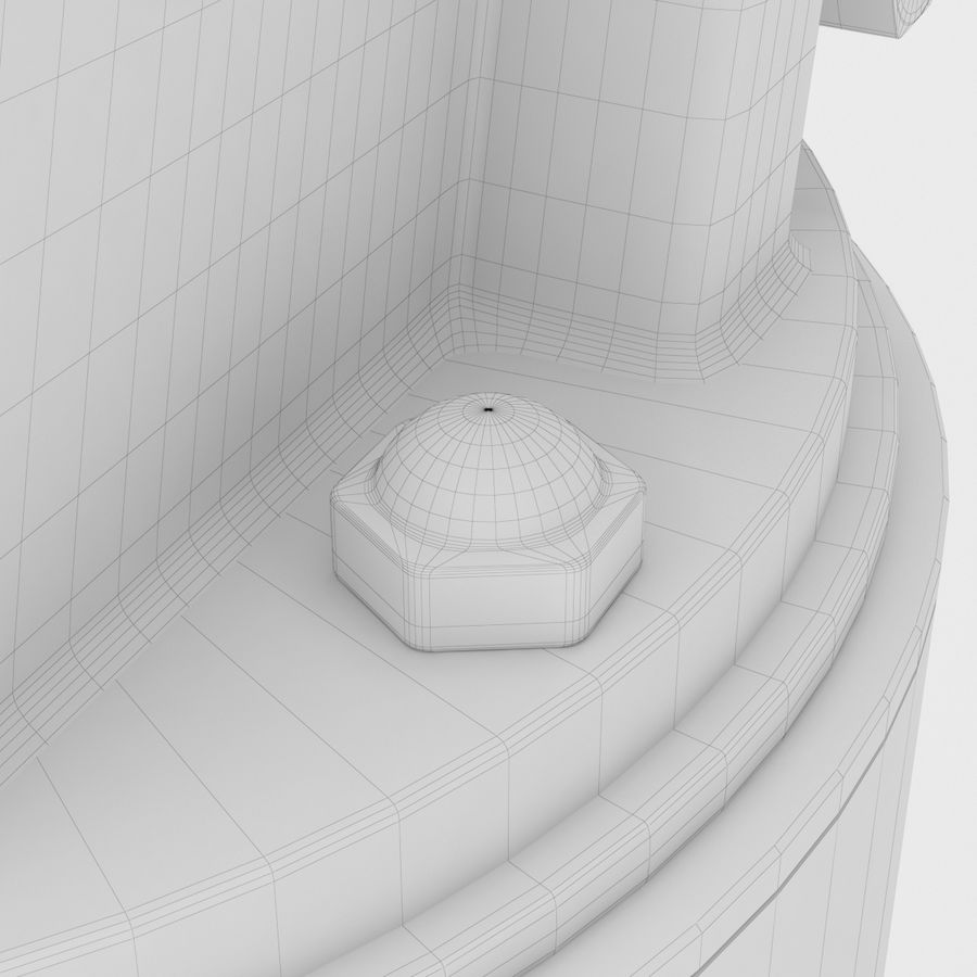 Telescope royalty-free 3d model - Preview no. 31
