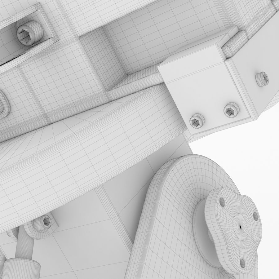 Telescope royalty-free 3d model - Preview no. 25