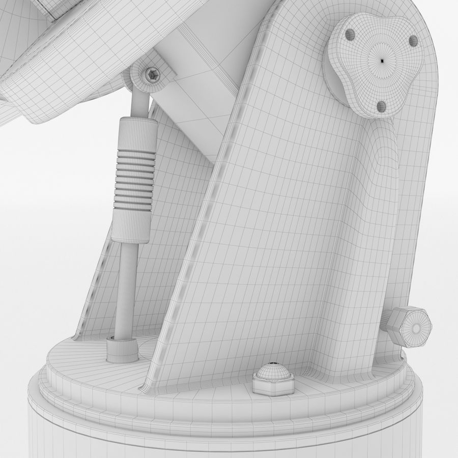 Telescope royalty-free 3d model - Preview no. 26