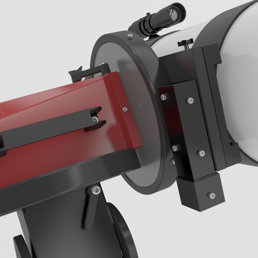 Telescope royalty-free 3d model - Preview no. 12