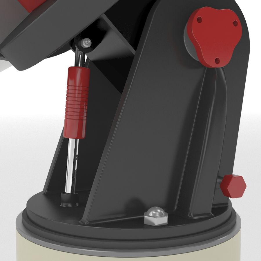 Telescope royalty-free 3d model - Preview no. 11
