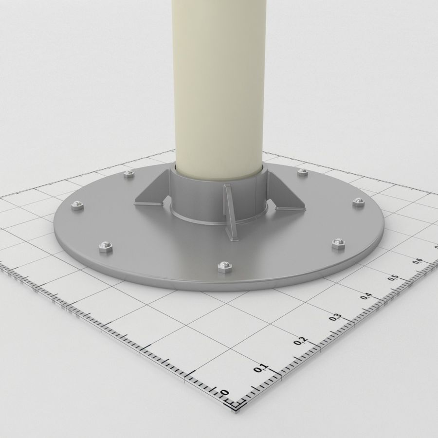 Telescope royalty-free 3d model - Preview no. 14