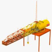 Hammerhead Crane 3d model