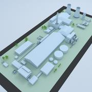 Factory & Industrial Facility Layout 2 3d model