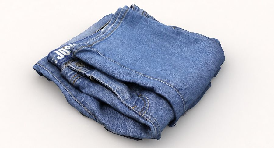 Jeans royalty-free 3d model - Preview no. 11