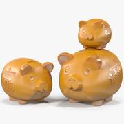 Piggy Banks 3d model